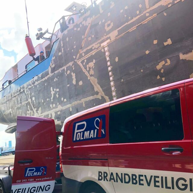 Work in progress ⚠️ . . . . #firesafety #polmai #fm200 #binnenvaart #maritiem #shipping #instagood #safetyfirst #workinprogress